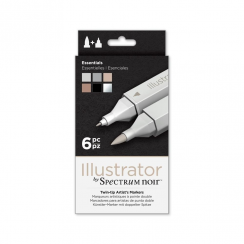 Spectrum Noir Illustrator 6pk - Essentials
