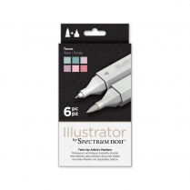 Spectrum Noir Illustrator 6pk - Tones