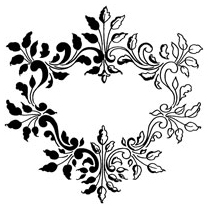 STAMPENDOUS » CLASSIC FRAME - CLING RUBBER STAMP