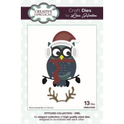 Creative Expressions Stitched Collection Owl