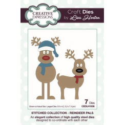 Creative Expressions Stitched Collection Reindeer Pals