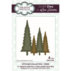 Creative Expressions Stitched Collection Trees
