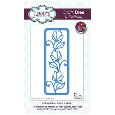 Sue Wilson Striplet Collection Petite Petal
