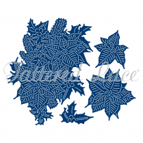 Tattered Lace Dies - Charisma Poinsettia + CD-ROM