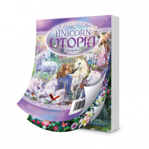 Hunkydory The Little Book of Unicorn Utopia Hunkydory Crafts A6 Papercrafting Card Making