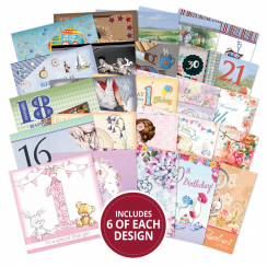 Hunkydory The Square Little Book of Milestone Birthdays