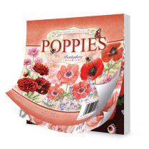 Hunkydory The Square Little Book of Poppies