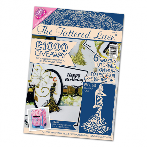 PARCHMENT LACE MAGAZINE - Issue 3 + Free Decorative Oval Lattice Grid
