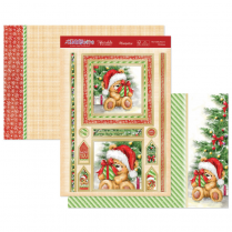 Hunkydory The Teddy Bears Christmas Luxury Topper Set