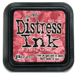 Ranger Tim Holtz Distress Ink Pads - Fired Brick  BA4918