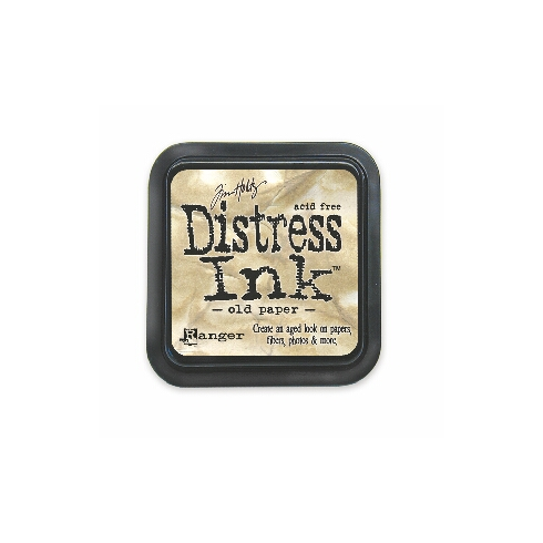 Ranger Tim Holtz Distress Ink Pads - Old Paper BA1640