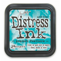 Ranger Tim Holtz Distress Ink Pads - Peacock Feathers BA3004