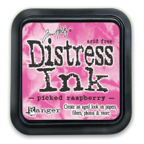 Ranger Tim Holtz Distress Ink Pads - Picked Raspberry BA3005