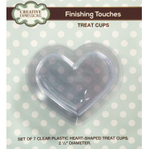 Creative Expressions Treat Cups-Heart
