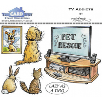 The Card Hut TV ADDICTS - STAMP SET