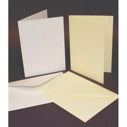 UK Cards & Envelopes C6 White
