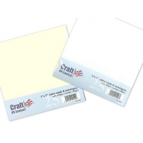 Craft UK UK Envelopes Ivory 7x7