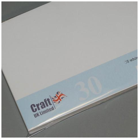 Craft UK UK Envelopes Ivory 8x8