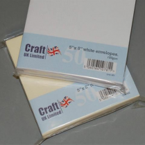 Craft UK UK Envelopes White 5x5