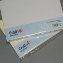 Craft UK UK Envelopes White C5