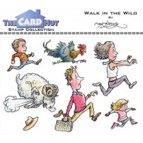 The Card Hut WALK IN THE WILD - STAMP SET