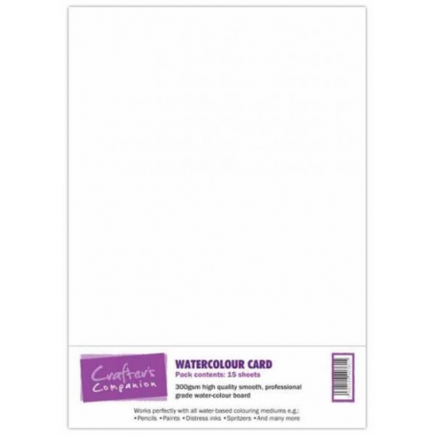 Crafters Companion Watercolour Card (Crafters Companion)  BA0956