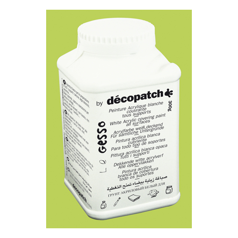 Decopatch White Acrylic Gesso Covering Paint