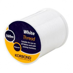 Korbond White Thread 160m