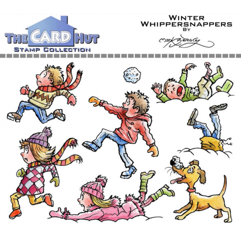 The Card Hut WINTER WHIPPERSNAPPERS - STAMP SET