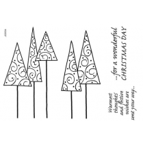 Woodware Clear SIngles - Leggy Trees