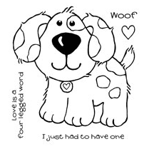Woodware Clear Singles - Puppy Love