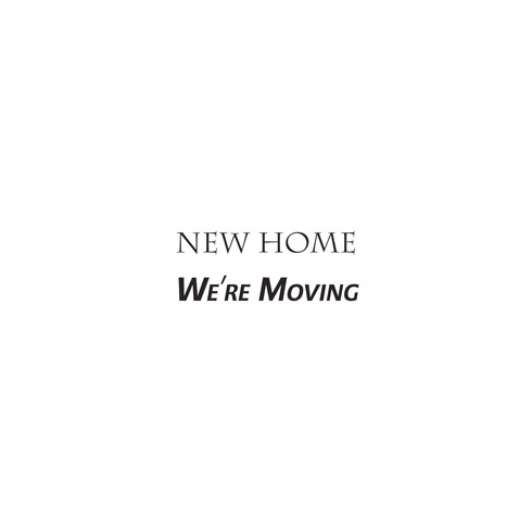 Woodware » NEW HOME - JUST WORDS CLEAR MAGIC TIDDLERS