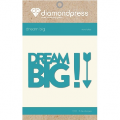 Diamond Press Word Dies - Dream Big