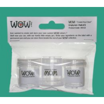 "Wow ""Create Your Own"" Empty Jars (3 Pack)"