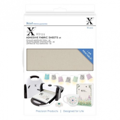 X-cut Xtra A5 Adhesive Fabric Sheets (10pcs)