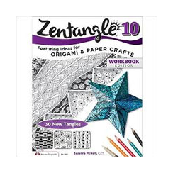 Zentangle 10 - Origami and Pap